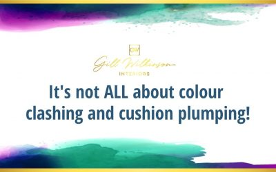 It's not all about colour clashing and cushion plumping!
